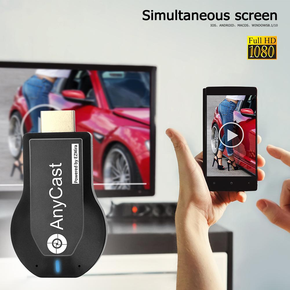 M2 Plus TV Stick Support For Miracast AirPlay DLNA 2.4G Wireless WiFi Display Dongle Receiver for IOS Android DDR1Gbit - ANKUX Tech Co., Ltd