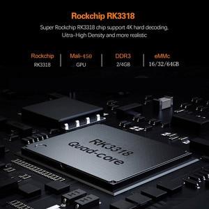 Image 2 - TEKASMI HK1 RBOX Smart TV Box Android 10 Rockchip RK3318 4GB 64GB 32GB H.265 2.4G 5GHz Wifi Bluetooth 4K Set TOP BOX 2GB 16GB