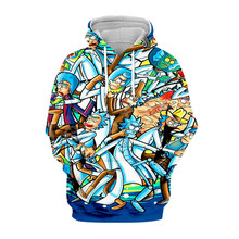 Tessffel Rick and Morty New Fashion Harajuku casual Tracksuit 3D Print Hoodie/Sweatshirt/Jacket/shirts Mens Womens funny style10