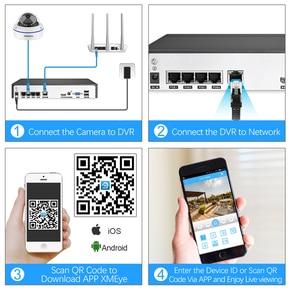 Image 5 - MISECU 4CH 5MP POE NVR Video Security System 2/4PCS 2MP 1080P POE IP Dome Camera Audio Vandal Proof CCTV Camera Surveillance Kit
