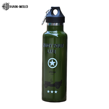 Sports Bottle 500ML Double Stainless Steel Thermos Insulated Water Bottle Outdoor Travel Portable Leak-proof Car Vacuum Flask 500ml fashion bullet vacuum flask stainless steel thermos portable vacuum insulated water bottle sport thermal thermos flask