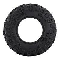 """INJORA 4PCS 1.0"""" All Terrain Soft Rubber Wheel Tires 52*17mm for 1/24 RC Crawler Car Axial SCX24 90081 AXI00001 Deadbolt 3"""