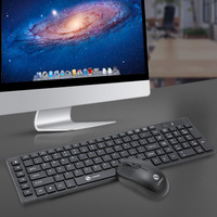 Limei K2 Wireless Keyboard And Mouse Set Laptop Computer Wireless Mouse And Keyboard Thin Chocolate Board Game Set EB