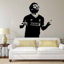 Фото - Mohamed Salah Footballer Vinyl wall Sticker  Liverpool Soccer Wallpaper Home Decor Bedroom Art Poster JH123 ahmed mohamed salah gestión administrativa del proceso comercial adgd0308
