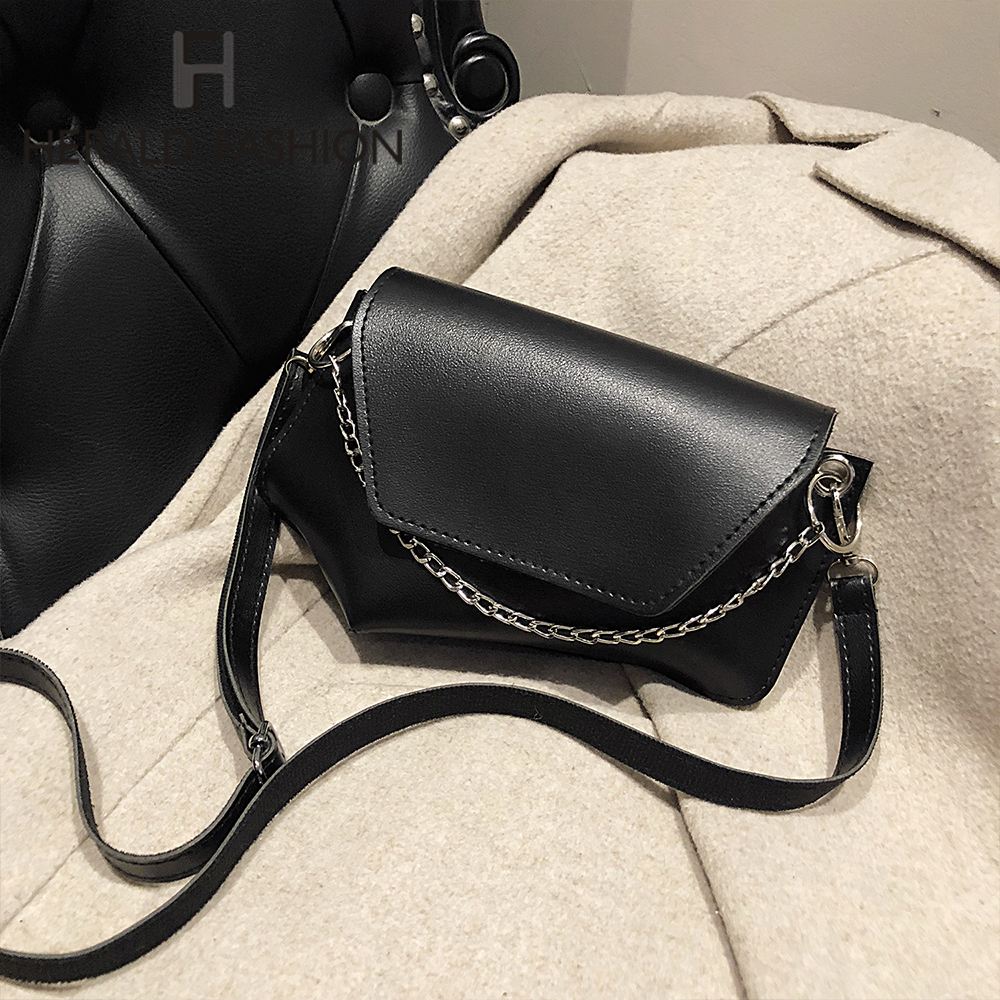 New Fashion Chain Solid Color Women Shoulder Crossbody Bags 2020 Fashion Totes Ladies Messenger Bags Clutches Female Purses