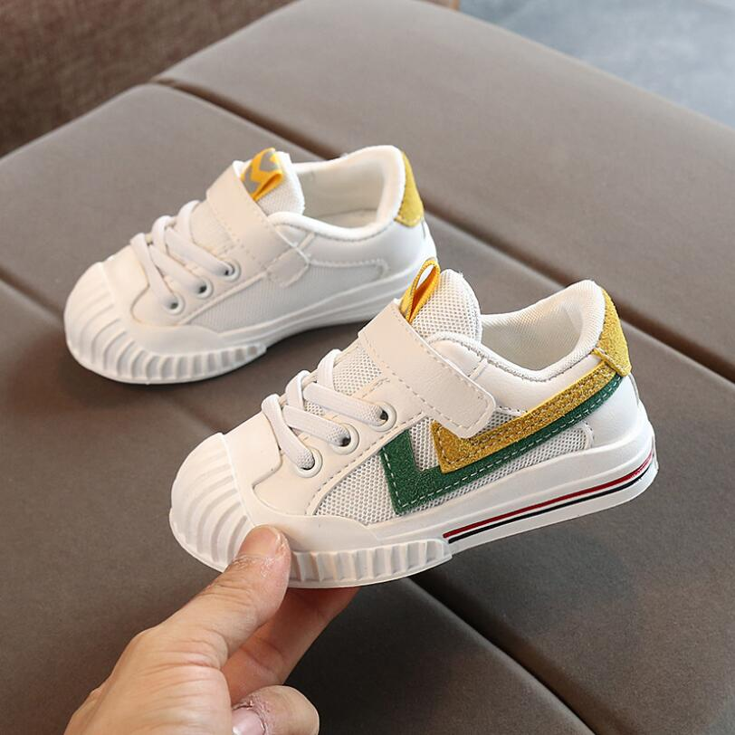 Children Sport Shoes Spring New Fashion Breathable Kids Boys Net Shoes Girls Anti-Slippery Sneakers Baby Toddler Running Shoes