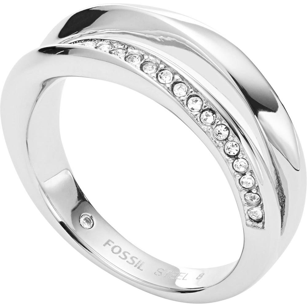 Jewelry Ring Fossil for women JF03019040 Jewellery Womens Rings Jewelry Accessories Bijouterie vintage alloy engraved circle ring for women
