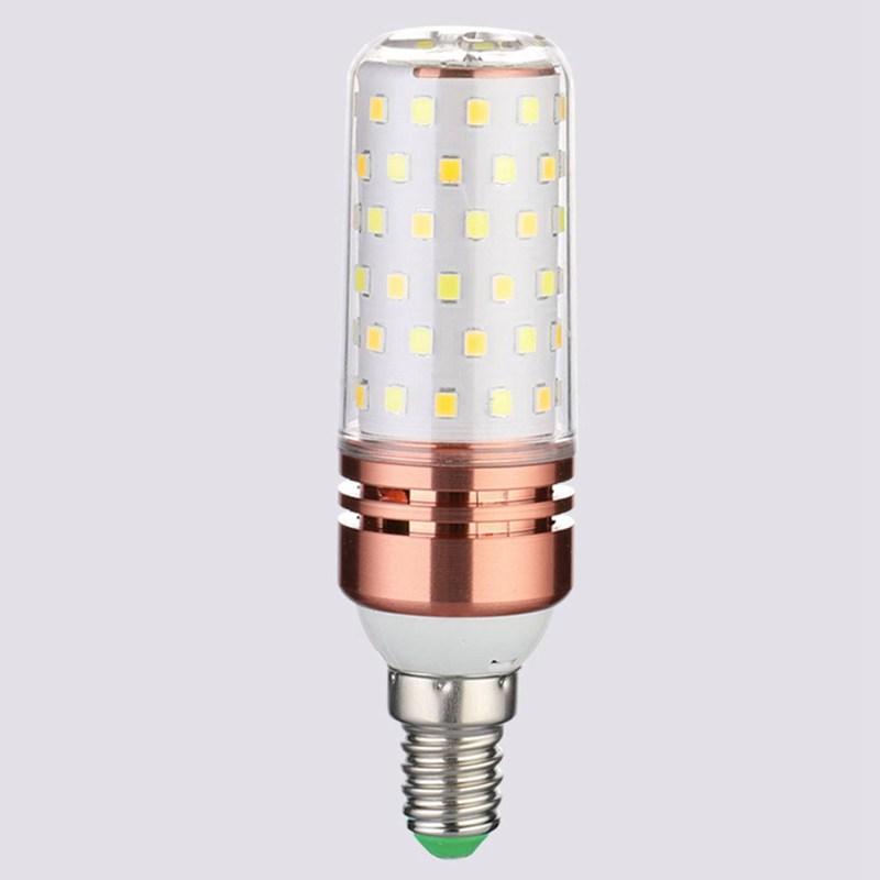 3 Color Temperatures Integrated SMD LED Corn Lamp E14 AC85V - 265V Warm White High Light Energy Conservation Small LED Light Bul