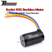 SURPASS-Motor sin escobillas HOBBY Rocket 4585, 1100KV, 1580KV, sin sensor, para X-MAXX HPI 1/7 1/8 RC, coche, camión, vehículo SUV RC
