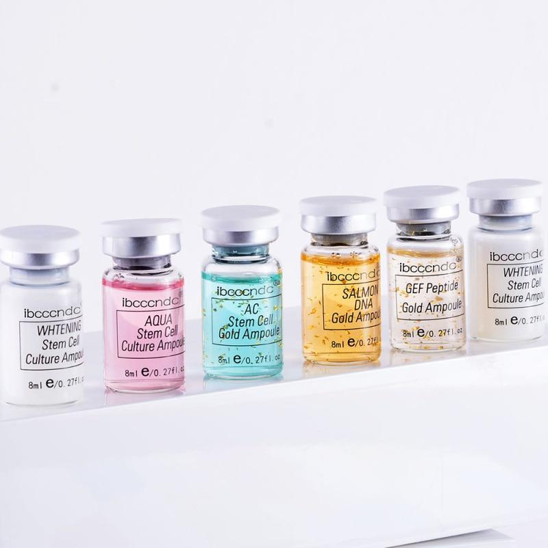 12 sztuk/pudło 8ml stayve ampułka meso zestaw startowy mix odcienie rozjaśniający fundacja leczenie trądziku Dermawhite leczenie dobre 4