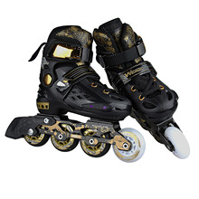 Inline-Skates Adjustable Outdoor Beginner Girls Women for And Boys High-Bounce