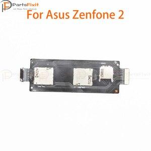 Устройство для чтения двух Sim-карт, запасные части для ASUS ZenFone 2 ZE550ML ZE551ML
