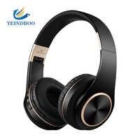 T8 HIFI stereo kopfhörer bluetooth kopfhörer musik headset unterstützung tf-karte mit mic für mobile xiaomi iphone sumsamg tablet