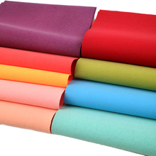 Wallet Faux-Leather Fabric-Sheet Vinyl Craft for Making Earrings Velvet Plain-Color 1yc7186