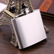 Mini Portable 5oz Alcohol Whiskey Wine Pot Stainless Steel Hip Flask Kitchen Bar Water Bottle Flagon Gifts for Drinker