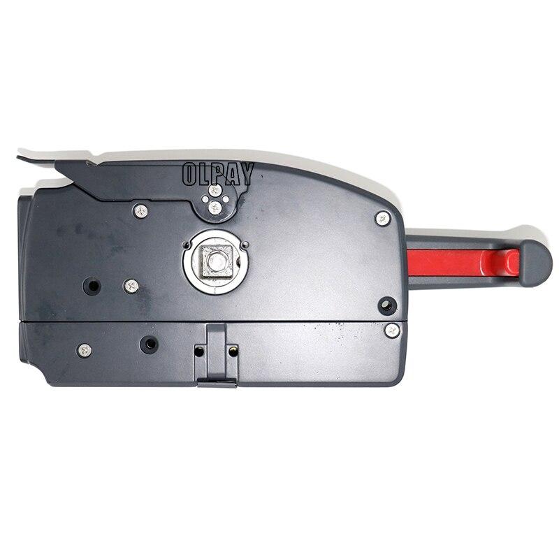 Caixa de controle de montagem lateral para