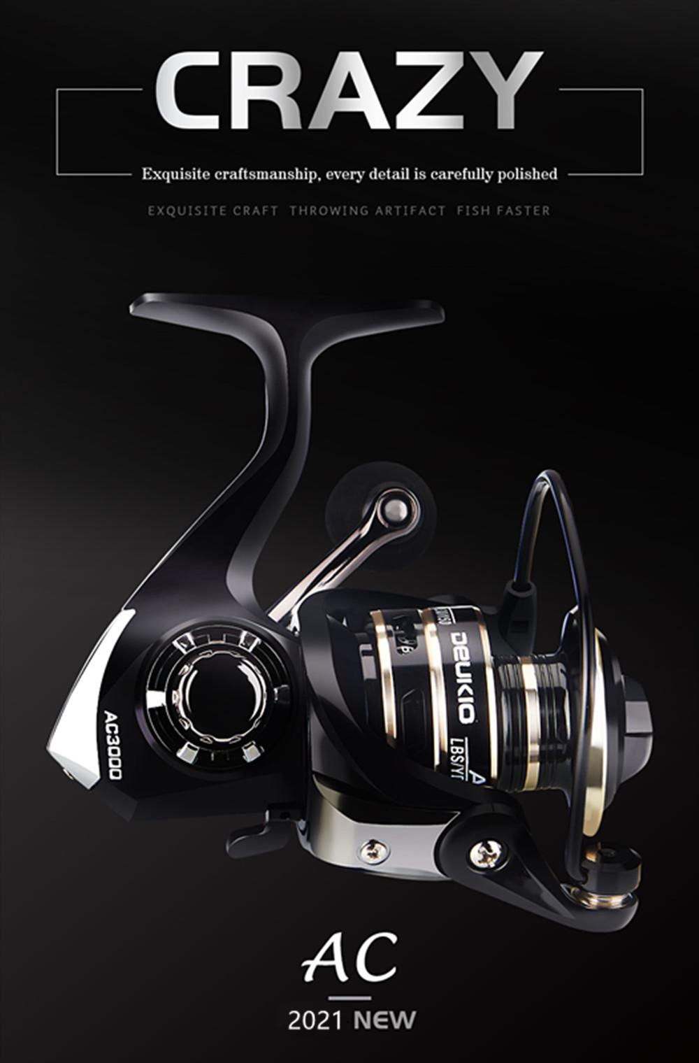 130mm Baitcasting Reel Fishing Reel Saltwater Drag Handle Fishing  Carp