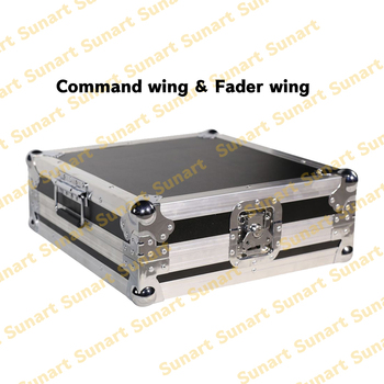 Free shipping MA Fader wing command wing stage effect light controller console with flight case for DJ disco  fader f cloud new arrivals matek f405 wing with osd f4 flying wing available for flight control
