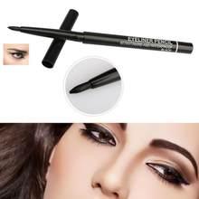 1 pçs novo preto rotação automática lápis delineador à prova dsweatágua de longa duração sweatproof não blooming eyeliner olho maquiagem tslm1