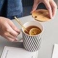 Ins kreative web promi paar kaffee milch für frühstück, mark tasse büro keramik haushalt trinkwasser tasse business geschenke
