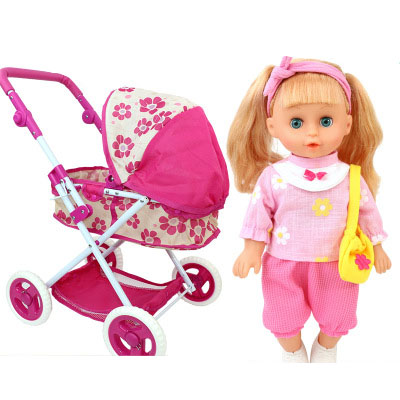 Baby, Pretend, Girls, Toy, Toys, Cart