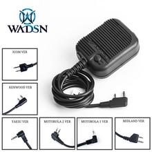 Headset Talk Hunting-Radio Yaesu Z-TAC Motorola WADSN Tactical Push Phone-Accessories