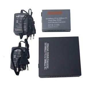 Image 5 - 1 Cặp 10/100 Mbps Fiber Optic Media Chuyển Đổi 1 CH * SC 8 CH * RJ45 Netlink Htb Chuyển Đổi 1 CH * SC 1 CH * RJ45 Thu Phát Sợi Quang