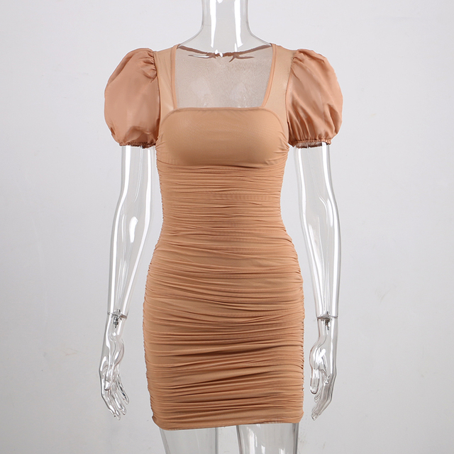 Forefair Puff Sleeve Dress 4