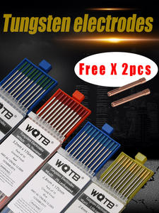 Tungsten-Electrodes WL20 Tig WC20 Welding-Aluminum WT20 for WL15 WZR8 WS20 WP Professional