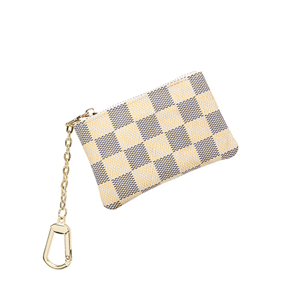 Luxury Clutches Women Bag Take A Card Coin Bag Classic Zipper Durable Fashion Bag Accessories Pu Leather Card Package Ladies