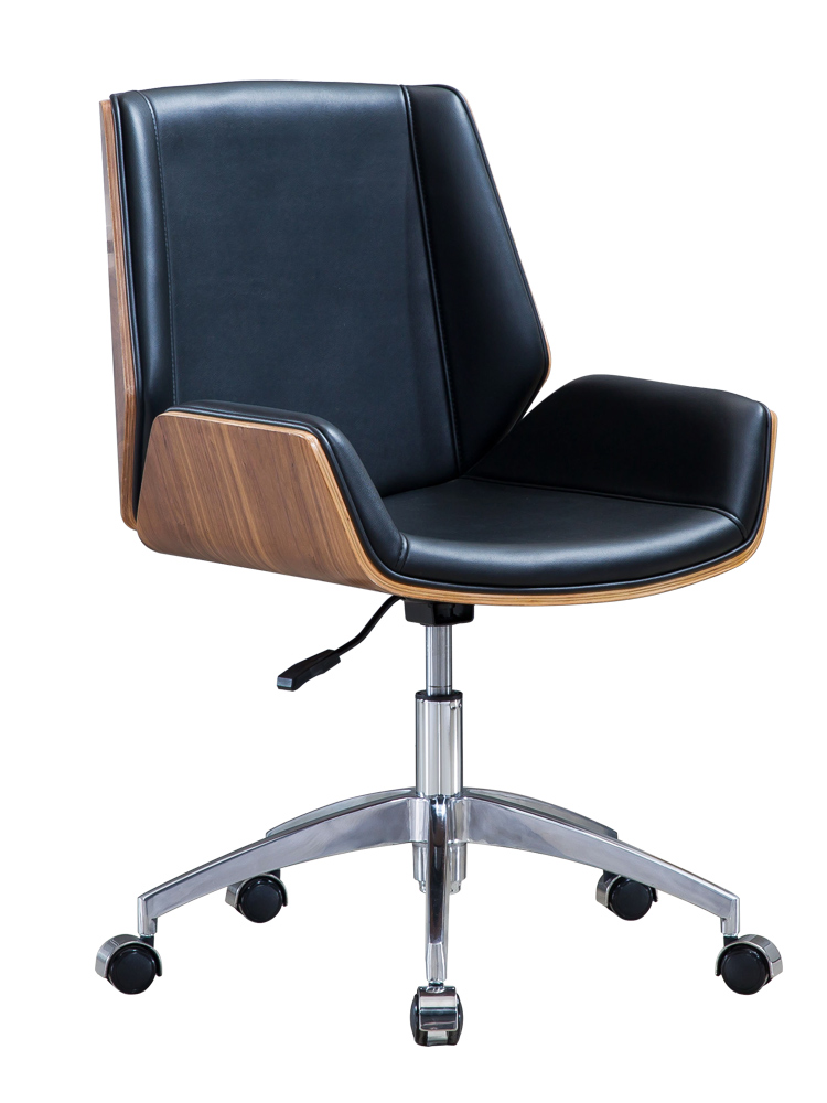 Office Chair Simple Modern Mahjong Computer Chair Home Book Table Chair Solid Wood Lifting Meeting Boss Back Swivel Chai