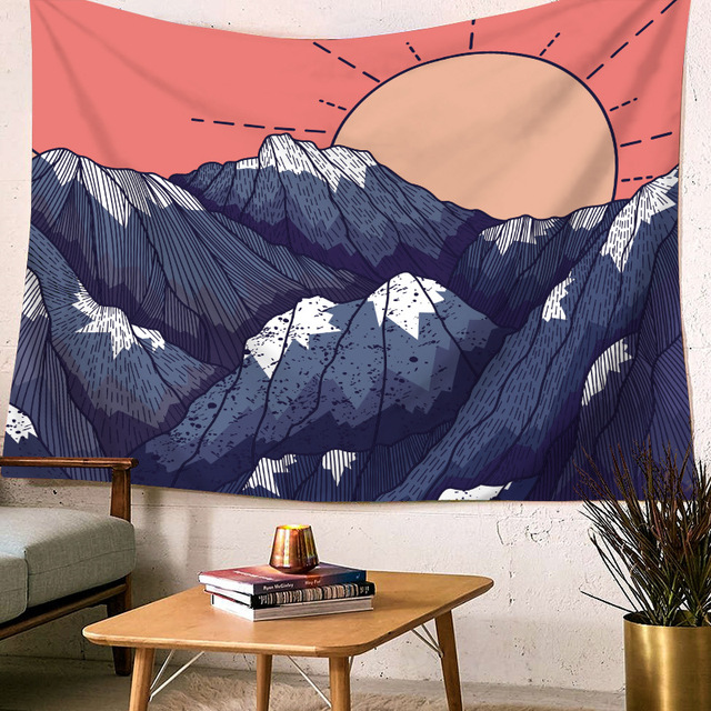 Landscape Printed Wall Tapestry 1