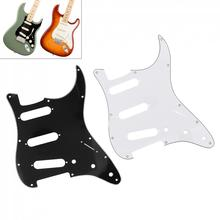 Guitar Pickguard Guitar Accessories 3Ply SSS PVC Electric Guitar Pickguard for FD ST Guitar fd esp guitar hardcase wood made