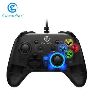 Image 1 - GameSir T4w USB Wired Game Controller Gamepadการสั่นสะเทือนและฟังก์ชั่นTurboจอยสติ๊กสำหรับWindows 7/8/10