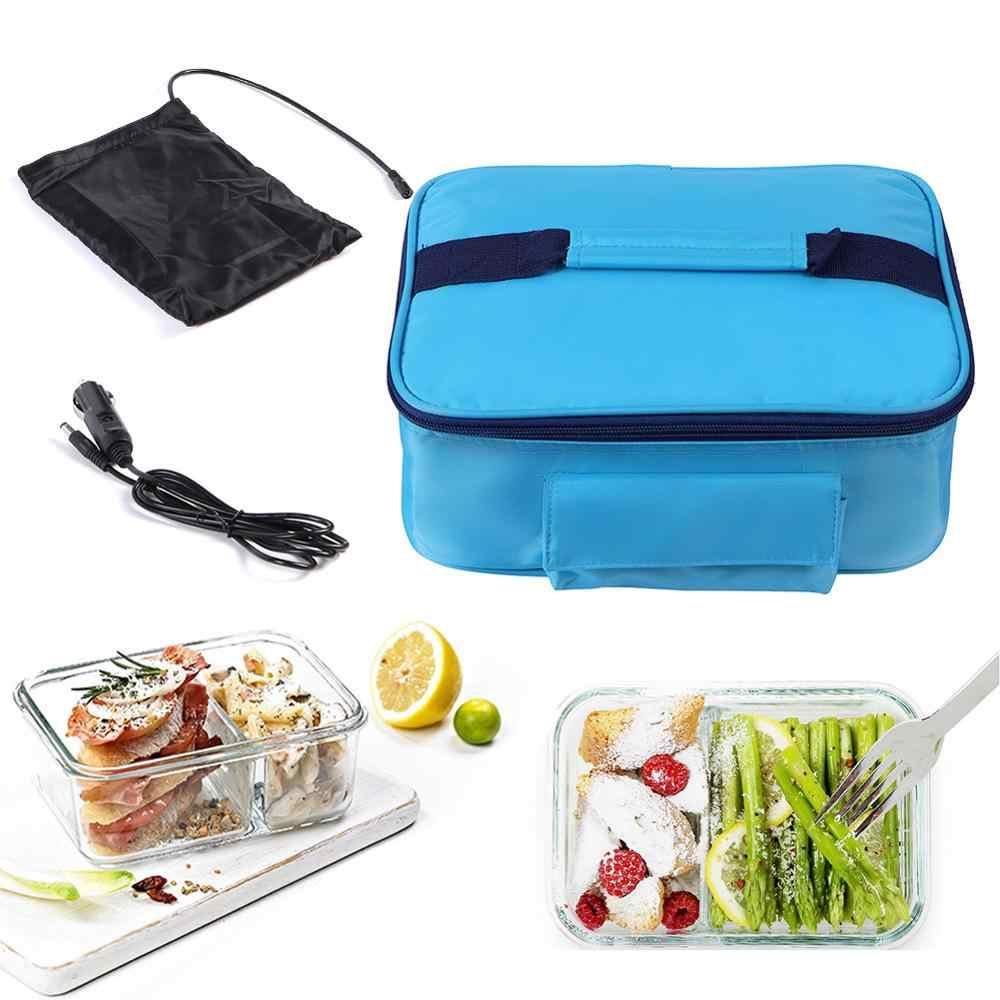 Drive Picnic Camping Car Truck Electric Oven Mini Hot Food Tote USB Heating Bag