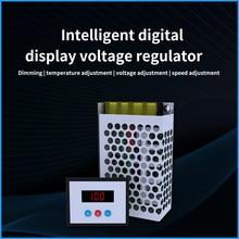 AC 220V 4KW 4000W SCR Control Digital voltaje electrónico regulador de Control de velocidad/regulador/termostato tiristor controlador
