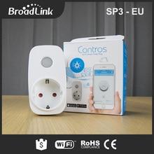 Broadlink SP3 eu/Contros Smart Wireless WiFi Socket 16A 3500w remote Power Supply Plug IOS Android Remote Control