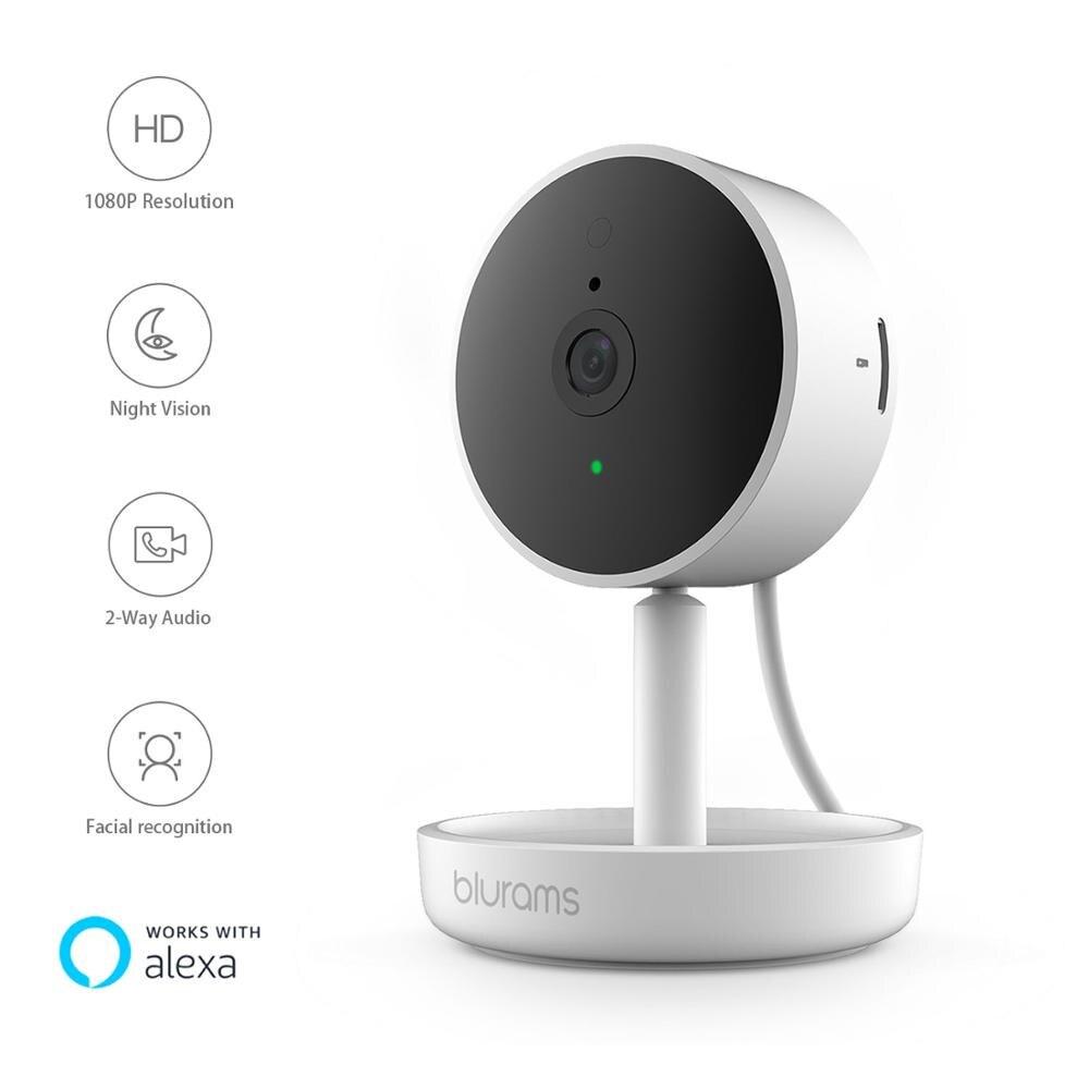 Blurams Home Pro, caméra de sécurité 1080p FHD AI reconnaissance faciale sans fil WIFI Webcam CCTV Surveillance système de caméra IP