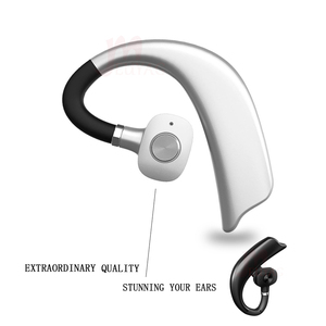 Image 2 - MEUYAG Wireless Bluetooth Earphone Stereo Handsfree Business Headset With Mic Noise Control Ear hook Earphones New For iPhone XR