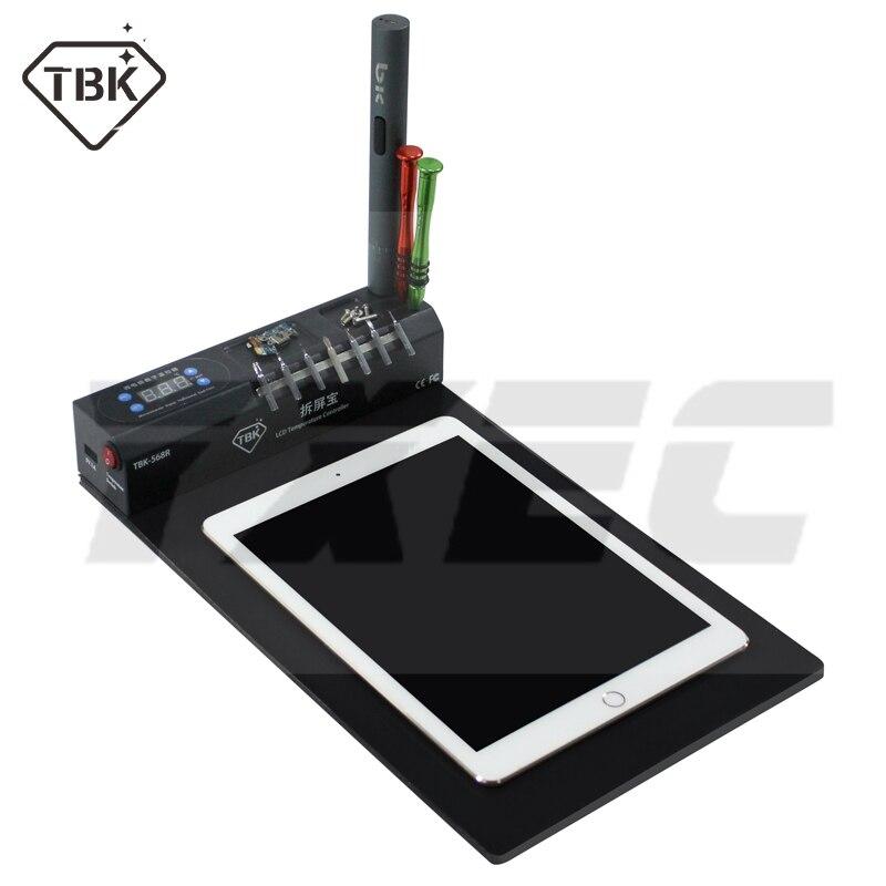 TBK-568 mise à jour version 568R LCD écran ouvert séparé Machine réparation outil séparateur pour iPhone Samsung téléphone portable iPad tablette