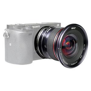 Image 2 - MEIKE 12mm f/2.8 Ultra geniş açı sabit Lens Sony E dağı A6300 A6000 A6500 A5000 NEX3/5/6 kamera ile APS C