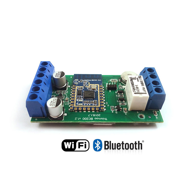 Mini Standalone Access Control Board Wiegand Output Icloud Data Transmission Smart Wifi & Bluetooth Connection Door Entry System