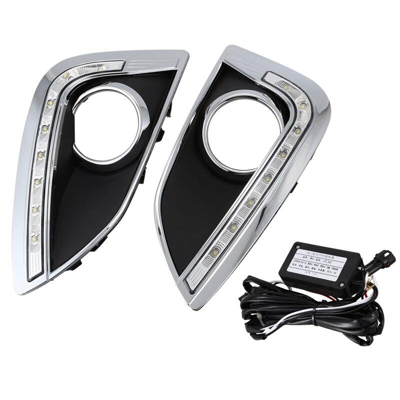 LED DRL Tagfahrlicht Nebel Lampe 12V Auto Led tagfahrlicht für Hyundai IX35 Ix 35 2010 2013