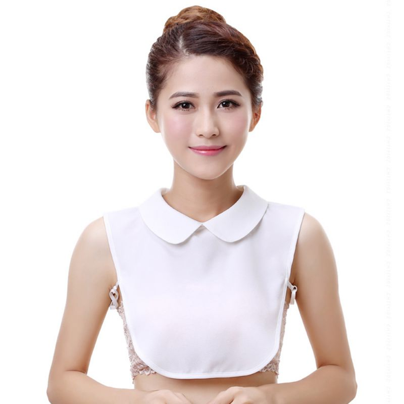 Shirt Fake Collar Tie Vintage Detachable Collar False Collar Lapel Blouse Top For Women Clothes Accessories