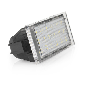 Image 3 - 자동차 LED 번호판 빛 르노 메간 3 Clio Laguna 2 Twingo 마스터 Vel Satis Opel Movano 번호 램프