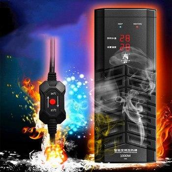 Aquarium Fish Tank Water Heater Thermometer 300W 500W 800W 1000W 1200W1500W Mini Heating Rod for Aquarium Temperature Control