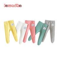 Pantalones para recién nacidos, ropa de algodón de colores caramelo, para bebés y niños pequeños, para el hogar, primavera y otoño