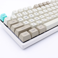 MP SA KEYCAPS PBT Retro Beige Keycap Dye Sublimation Keycap Cherry MX switch Keycaps for Wired USB Mechanical Gaming keyboard