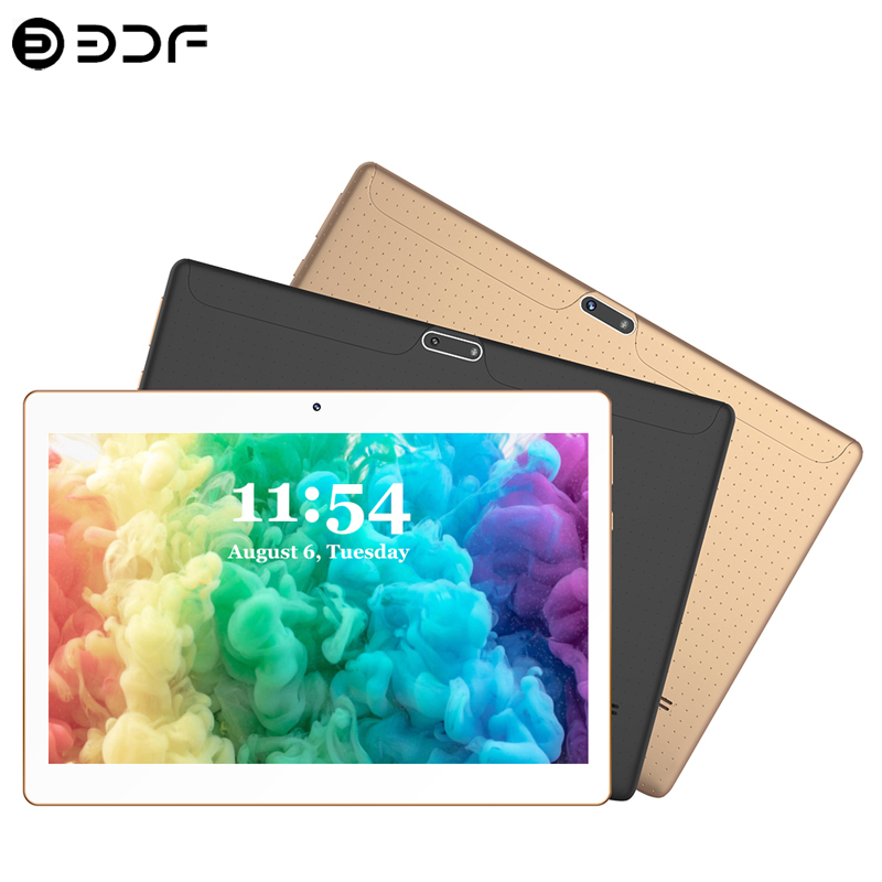 New 10.1 Inch Tablet PC 4G/3G Phone Call 8GB/128GB Ten Core MTK Android 9.0 Wi-Fi Bluetooth Dual SIM Original Tablet PC