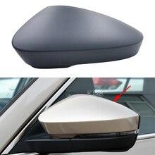 Auto Links Rechts Seite Rückspiegel Abdeckung Flügel Spiegel Shell Kappe Für Skoda Kodiaq Karoq 2017 2018 2019 2020 2021